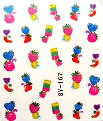 Wasserlösliche Sticker ice cream SY-167