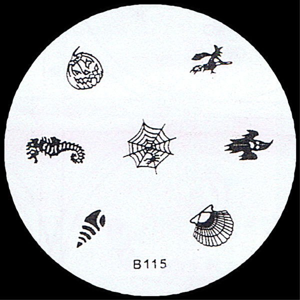 Stamping Schablone B115