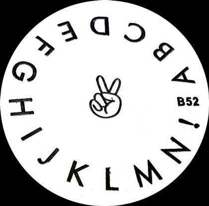 Stamping Schablone B52
