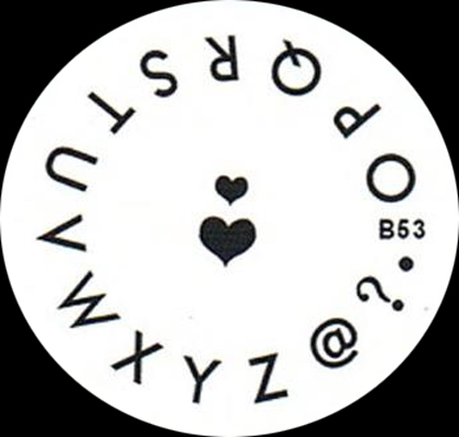 Stamping Schablone B53