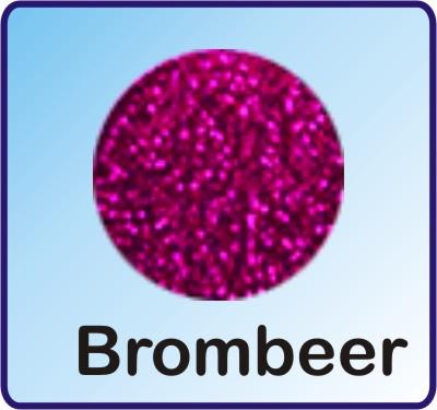 Glitter Nachfüllbeutel neon Brombeer 3g