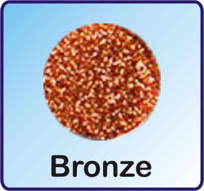 Glitter Nachfüllbeutel Bronze 3g