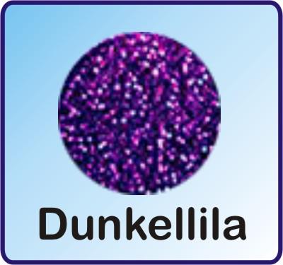 Glitter Nachfüllbeutel dark purple 3g