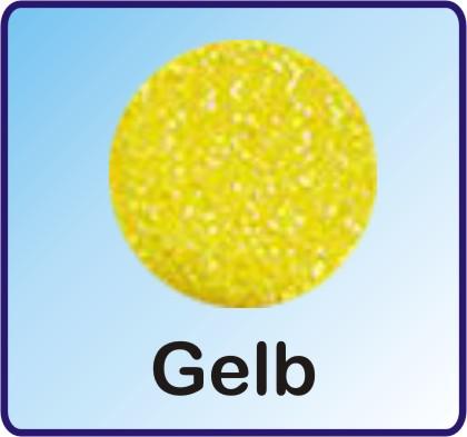 Glitter Nachfüllbeutel gelb 3g