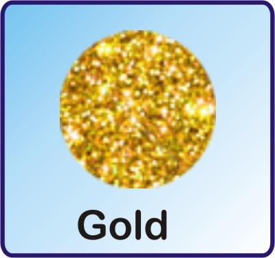 Glitter Nachfüllbeutel Gold 3g