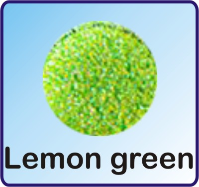 Glitter Nachfüllbeutel lemon green 3g