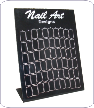 Nail Art Display schwarz
