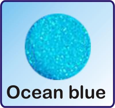 Glitter Nachfüllbeutel ocean blue 3g