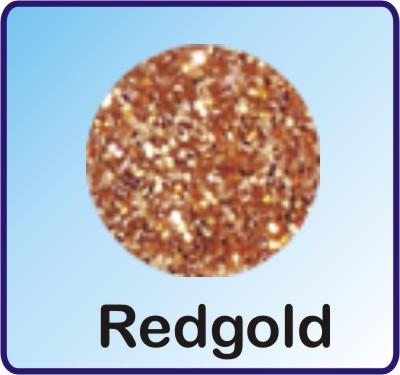 Glitter Nachfüllbeutel Redgold 3g