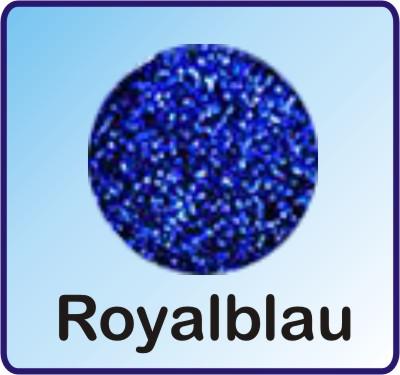Glitter Nachfüllbeutel royalblau 3g
