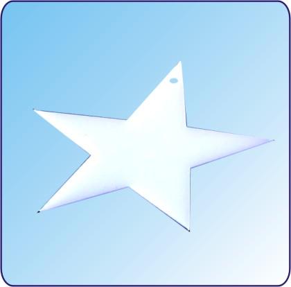 Anhänger schiefer Stern