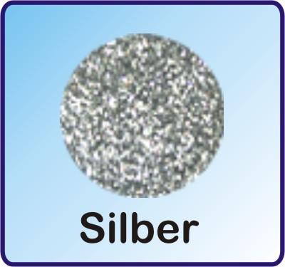 Glitter Nachfüllbeutel Silber 3g