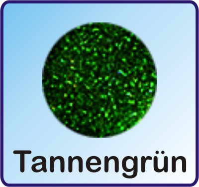 Glitter Nachfüllbeutel Tannengrün 3g