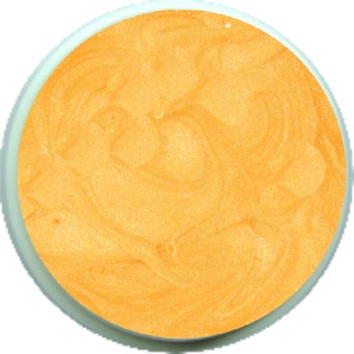 Farbgel Orangegelb Metallic 4ml