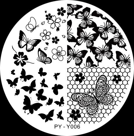 Stamping Schablone PY-Y006