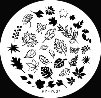 Stamping Schablone PY-Y007