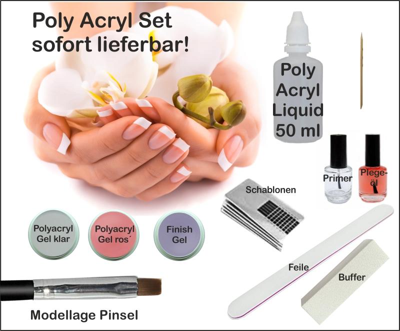 Poly Acryl Gel Set
