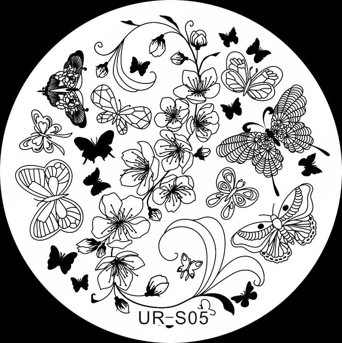 Stamping Schablone UR-S05