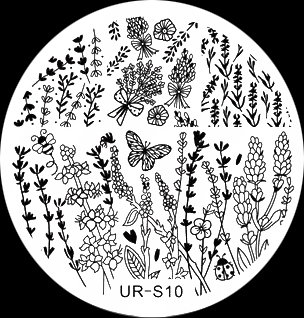 Stamping Schablone UR-S10
