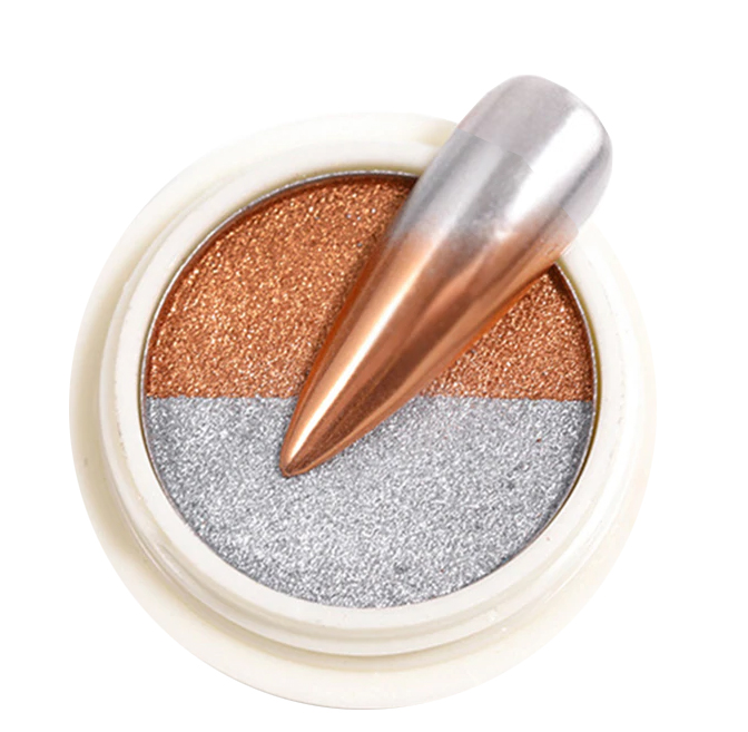 Chromeglanz Pigment silber / bronze