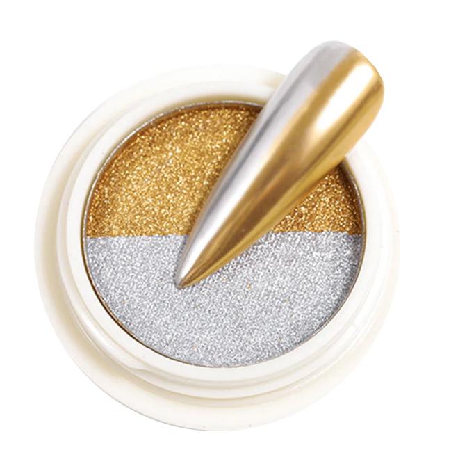 Chromeglanz Pigment silber / gold
