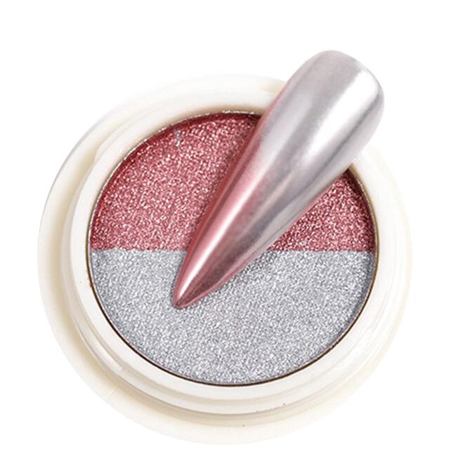 Chromeglanz Pigment silber / rose´