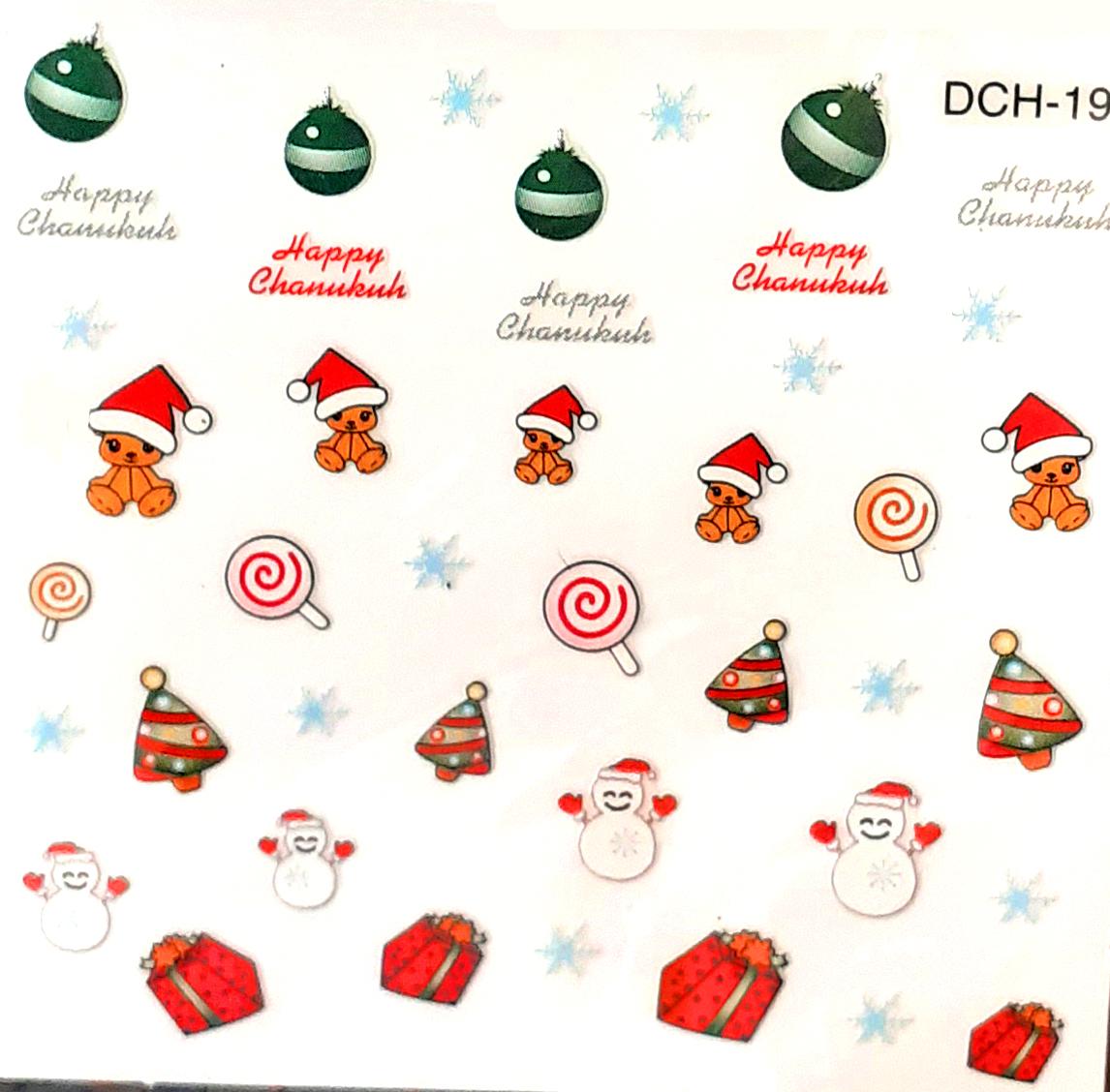 Sticker Weihnachten DCH-19 selbstklebend
