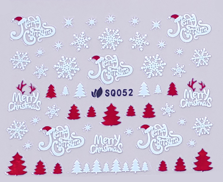 Sticker Weihnachten SQ052 selbstklebend
