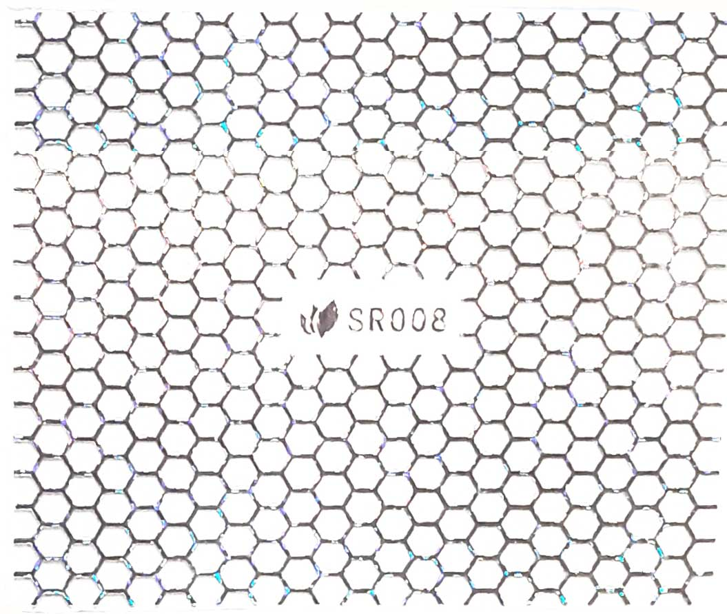 Sticker silber metal SR-008 strips Nailsticker, Nagelsticker, Nailtattoo, Lase Stripe