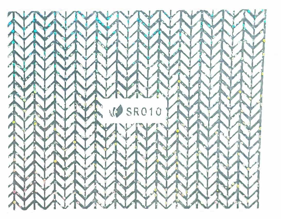 Sticker silber metal SR-010 strips Nailsticker, Nagelsticker, Nailtattoo, Lase Stripe