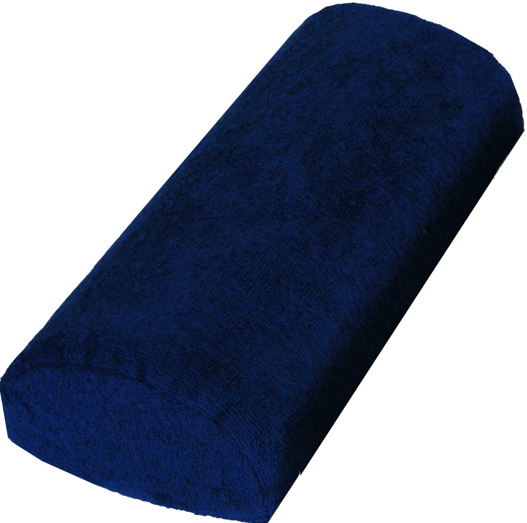 Handauflage Frottee dunkelblau waschbar