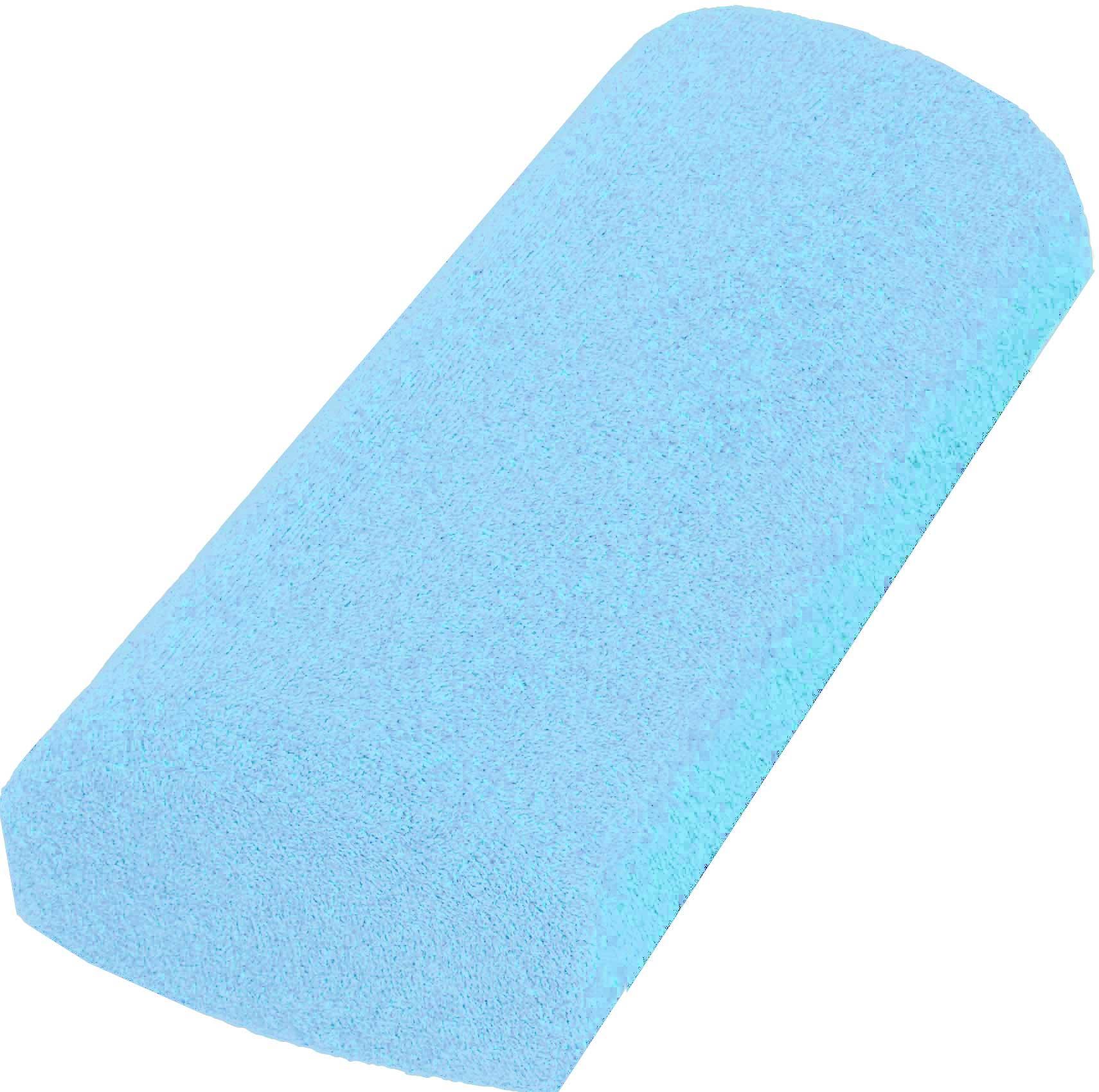 Handauflage Frottee hellblau waschbar
